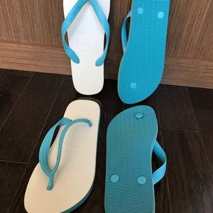 HAVAIANAS one price for 2 Pairs ! Unisex style